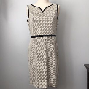 Ann Taylor Knit Textured Career Professional Dress